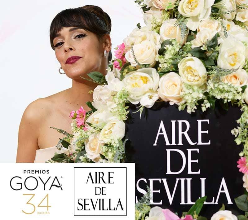 Perfumes Aire de Sevilla de Instituto Español Premios Goya 2020