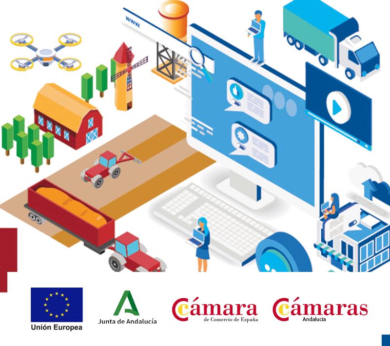Proyecto FOCOIN para la digitalización de las empresas en Andalucía.